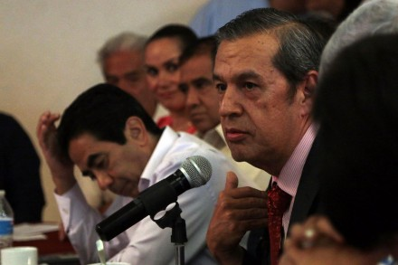 Rogelio Ortega, gobernador de Guerrero. Foto: José Luis de la Cruz