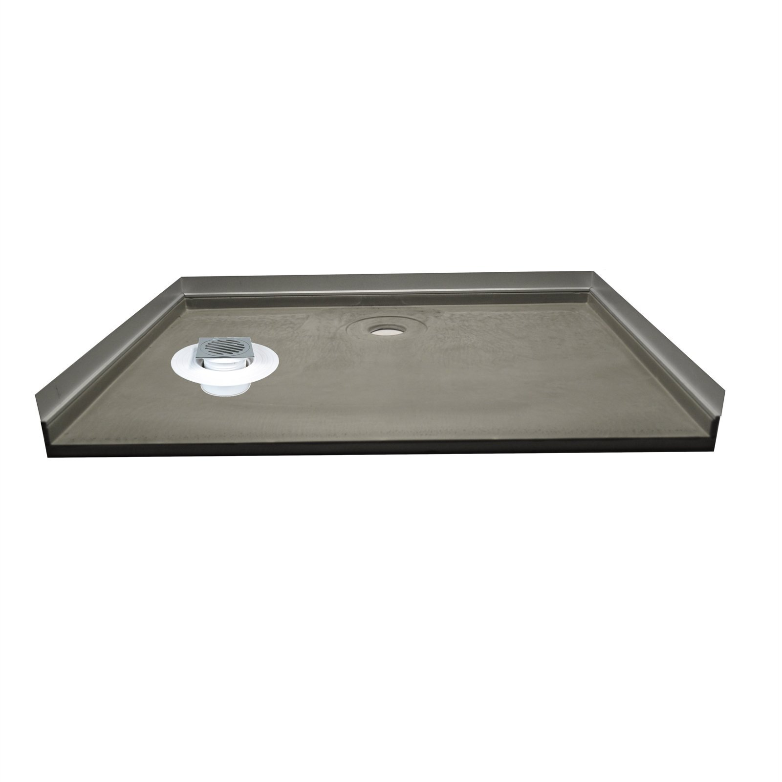 wet area solutions 1200 x 900mm rear outlet 3 sided shower tile over tray