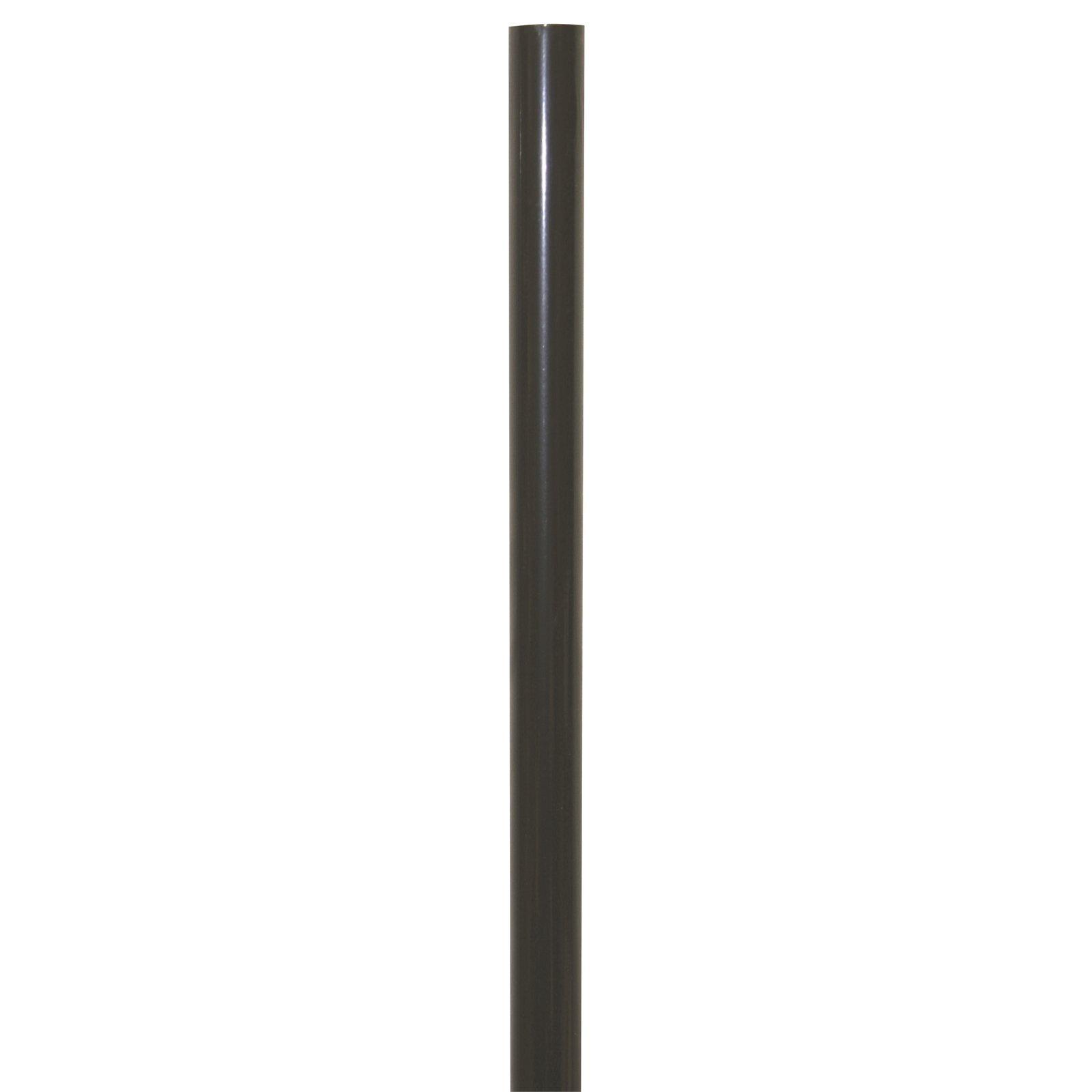 windoware curtain rod 19mm x 3 0m wrought iron black