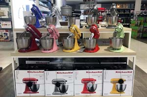 macys kitchen aid ikea appliances macy s spotlights kitchenaid artisan mini stand mixer home mixers display