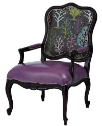 Accent chairs offer easy way to add excitement, color ...