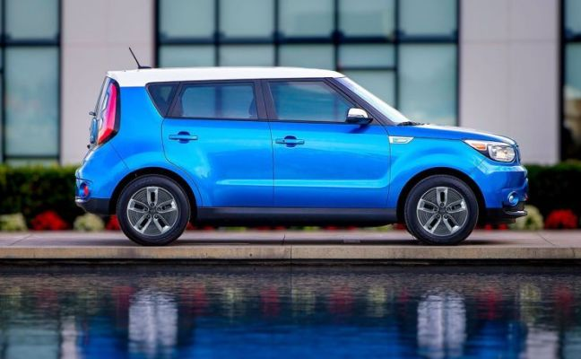 2017 Kia Soul EV electric car
