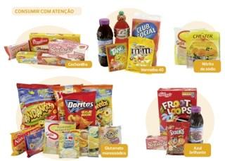 Aditivos: alimentos que devem ser consumidos com atenção