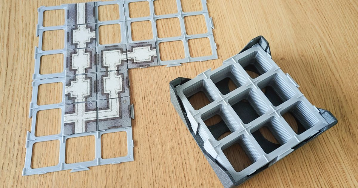customizable board game carcassonne tile grids