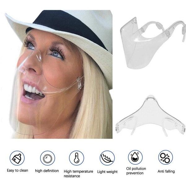 Face Shield Anti Fog Transparent Mask