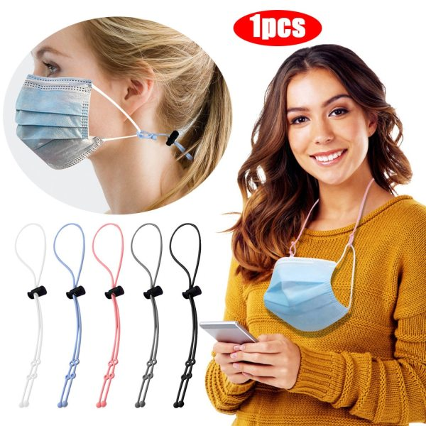 Face Mask Sling Silicone Rope Extension Strap Holder