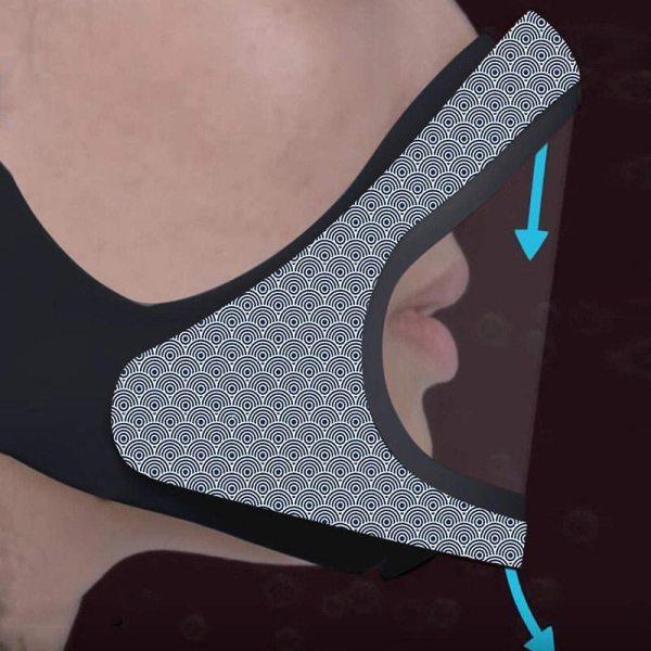 Smart Magnetic Fog Proof Face Mask