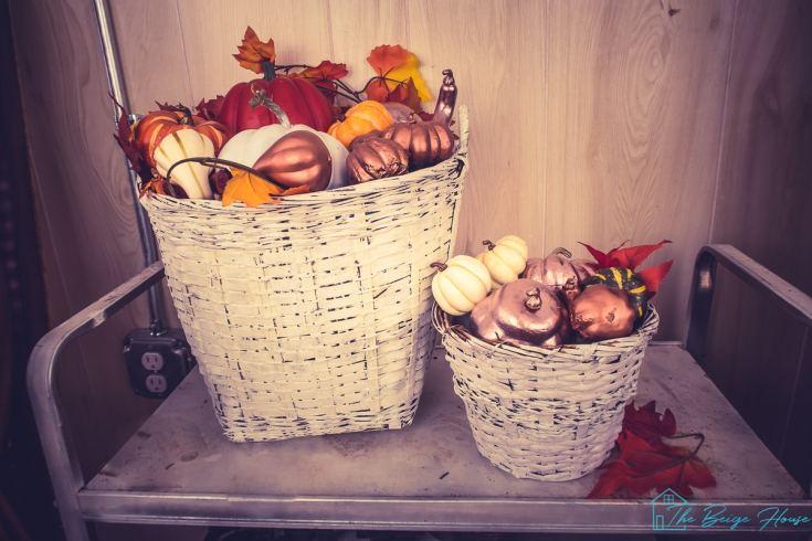 DIY Fall Harvest Basket