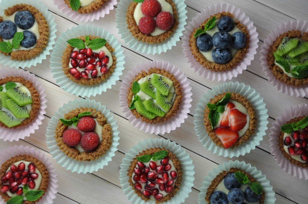 Always Eat After 7 PM 30 day Challenge fruit tarts