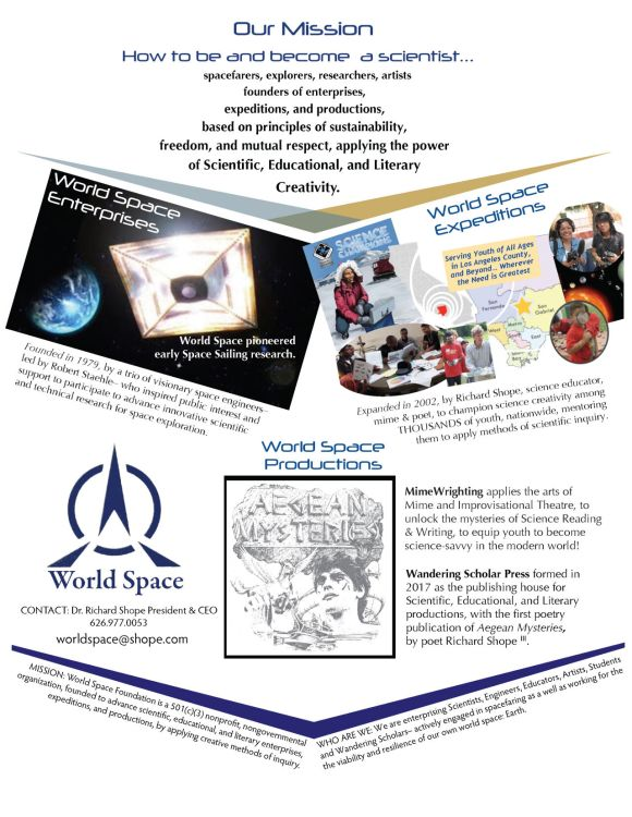2020 Mission World Space