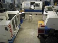 Our Machining Area