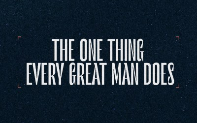 Sunday Worship | The One Thing Every Man Does | Father's Day | Pastor Eric Holmstrom