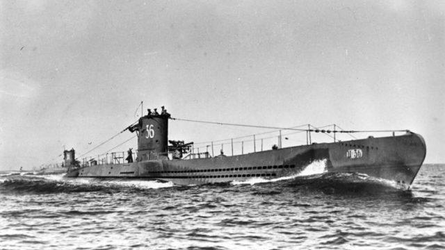 Submarino alemán de la Segunda Guerra Mundial