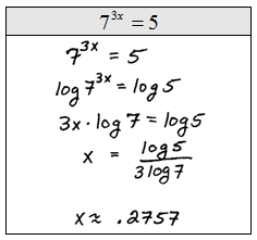 (Q7) Solving Exponential Equations with Logs-Oyl Modified