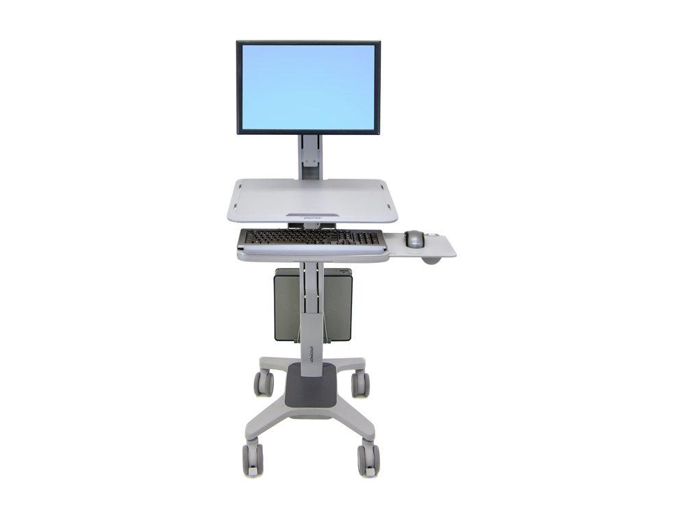Ergotron WorkFit C Single LD SitStand Workstation