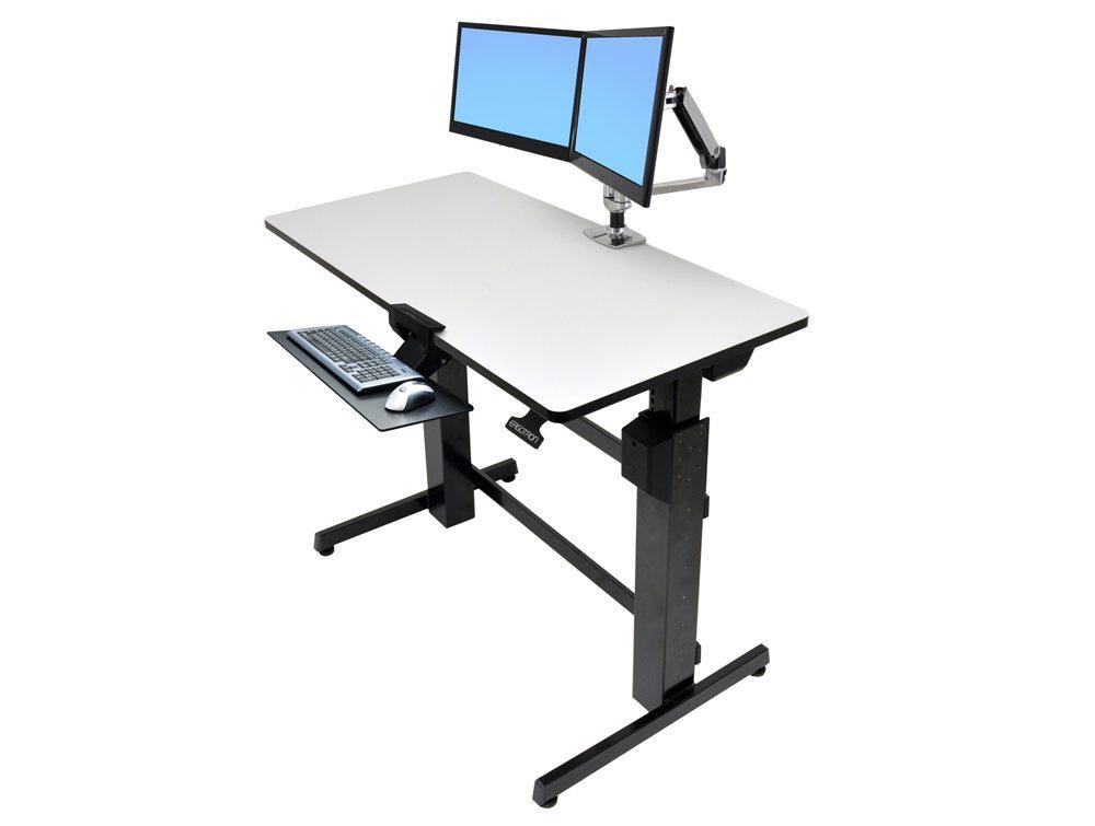 Ergotron WorkFit D SitStand Desktop Workstation  Radius