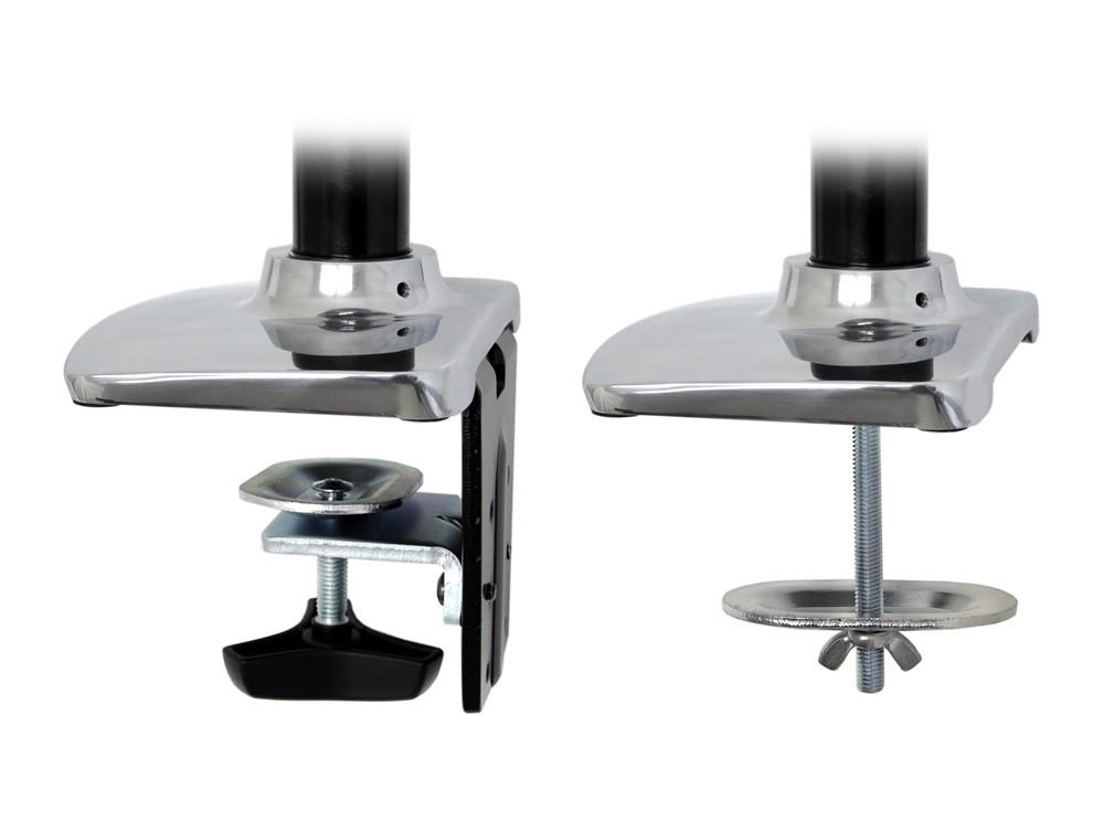 Ergotron LX Dual Side by Side Desk Mount LCD Arm