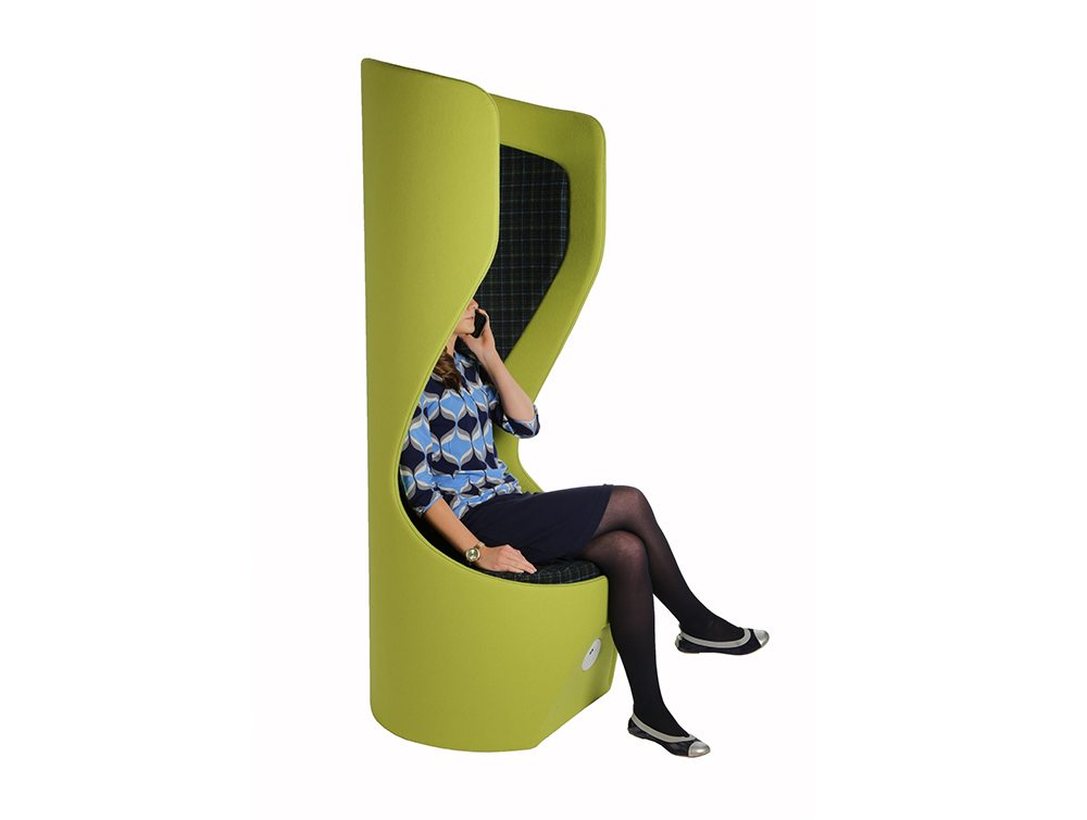Hide Acoustic Office Pod with Power