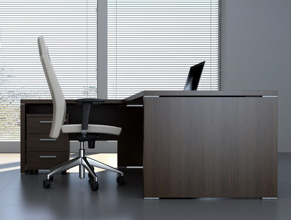 Quando Executive Desk Return  Executive Desks  Radius Office