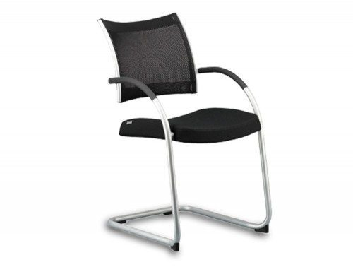 meeting room chairs swivel chair singapore used boardroom and tables wiesner hager point mesh cantilever in black
