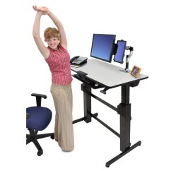 Cheap Sofas Next Day Delivery Uk Oversize Ergotron Workfit D Sit-stand Desktop Workstation | Radius ...