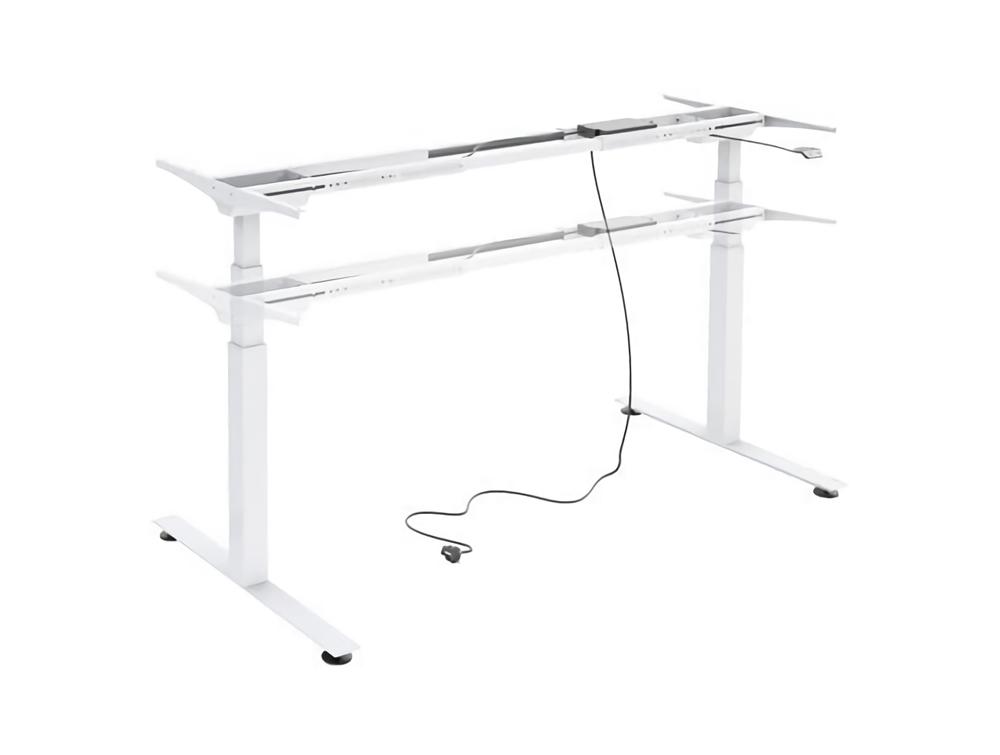 Ergomaster Electric Sit-Stand Back-to-Back Desk Unit in