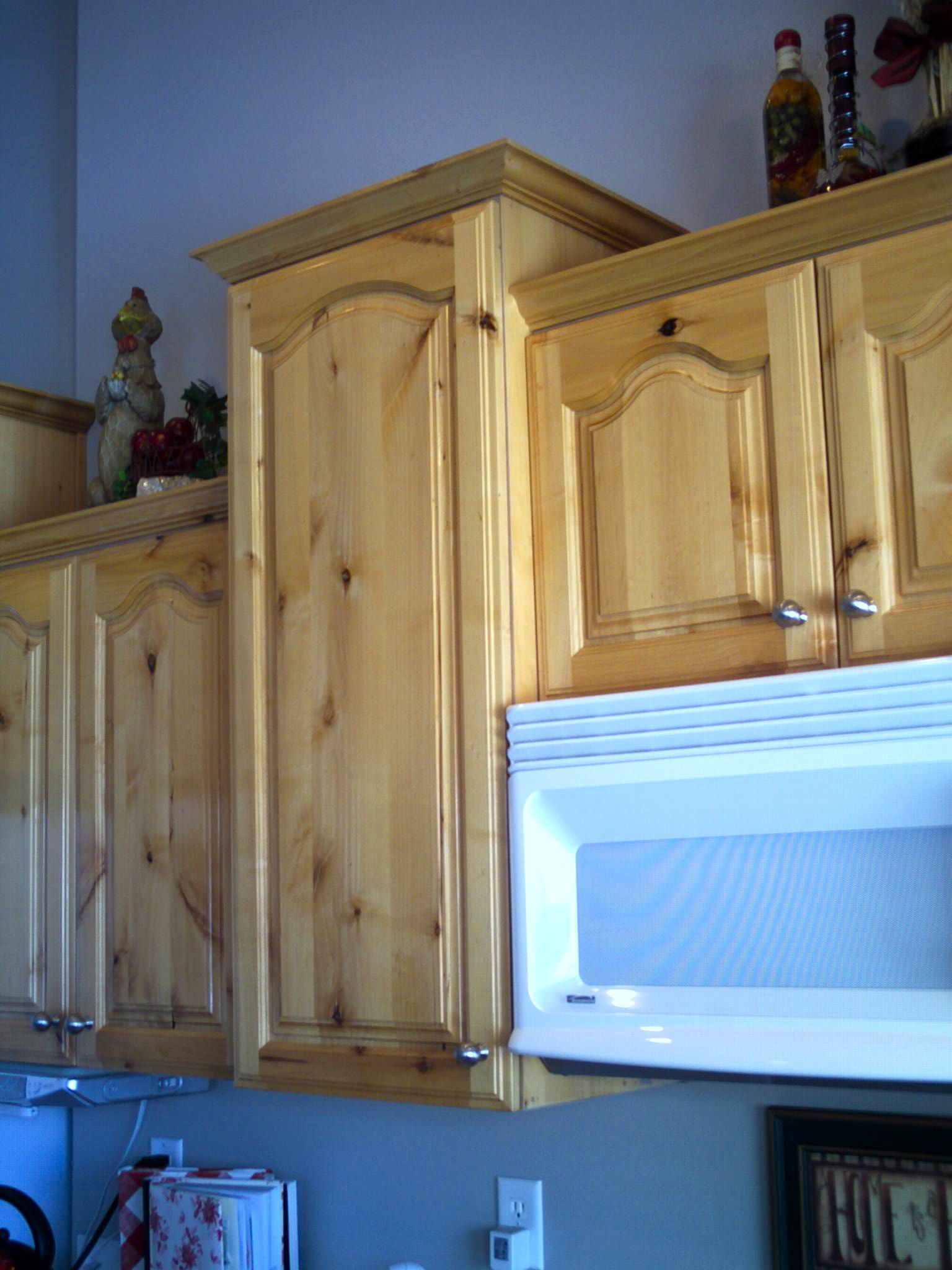 repainting kitchen cabinets ikea remodel cost refinished knotty alderwood