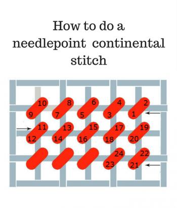 needlepoint stitches stitch diagrams 2004 dodge durango infinity sound system wiring diagram continental