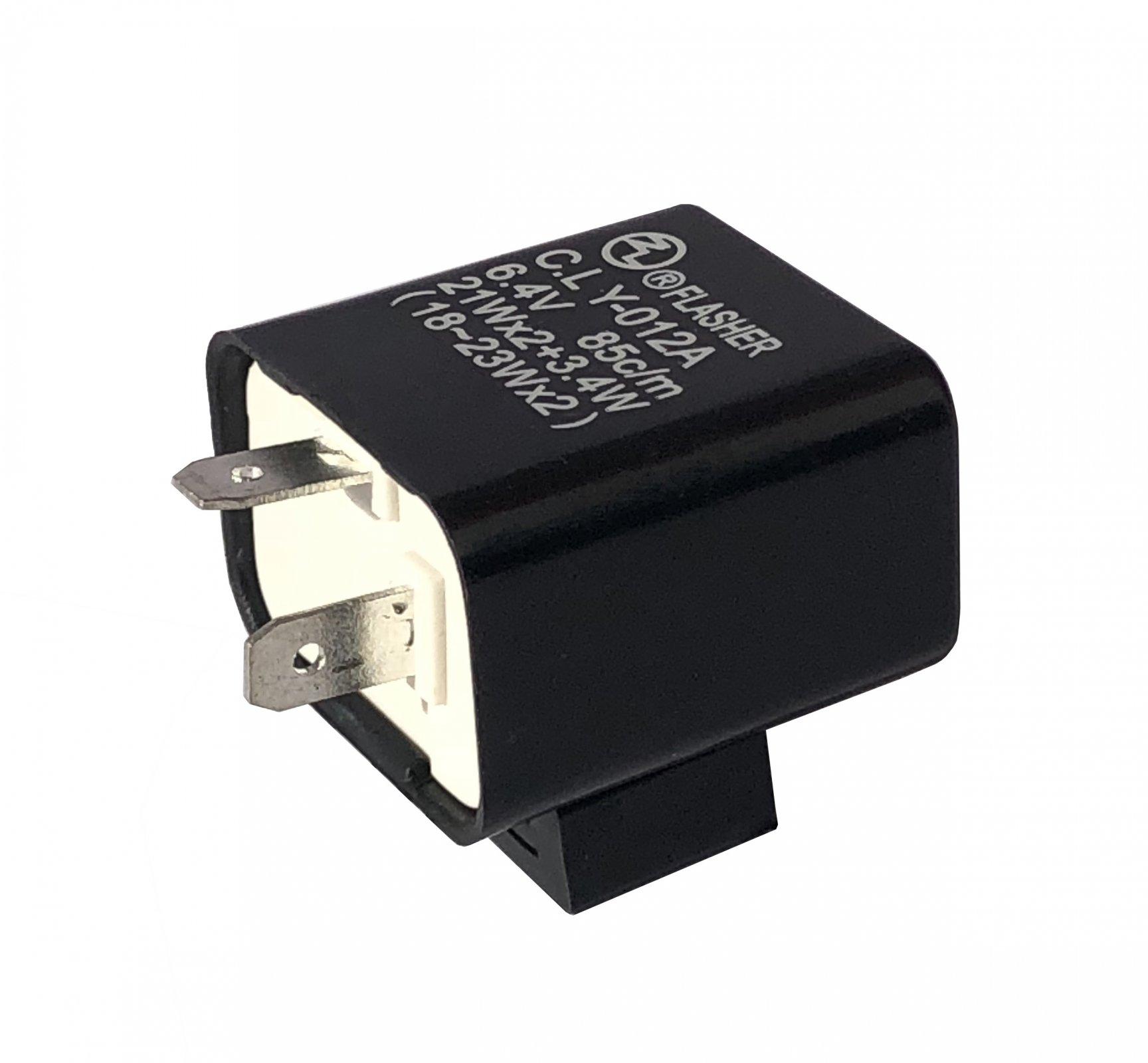 hight resolution of yamaha xt500 6v 2 pin flasher relay fz636sd 12 021