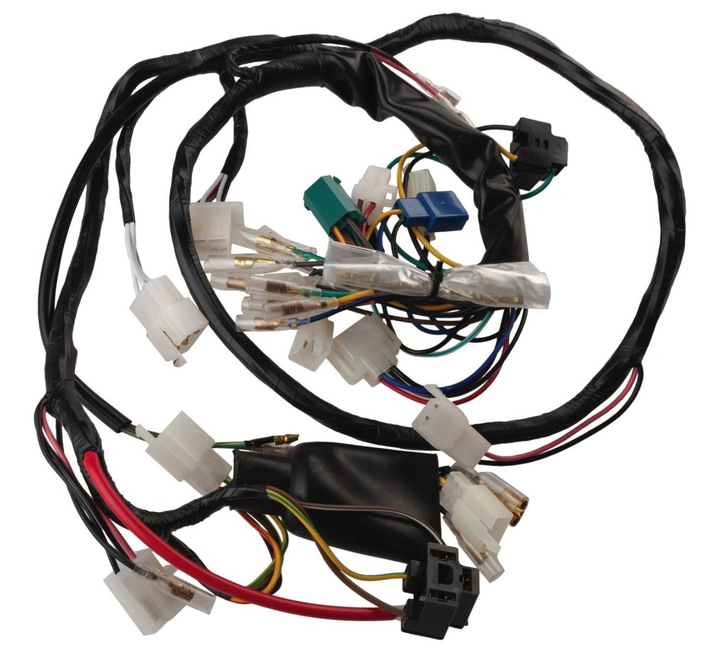 medium resolution of yamaha sr500 1978 1981 wiring harness 05 017