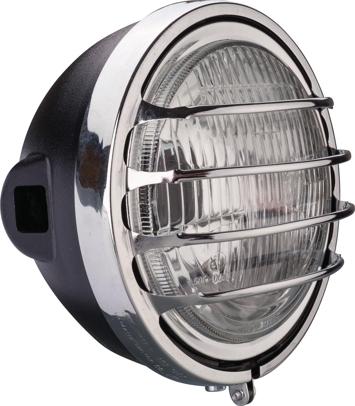 hight resolution of yamaha xt500 tt500 paris dakar replica headlight lamp kit h4 bulb 12v or 6v a 046