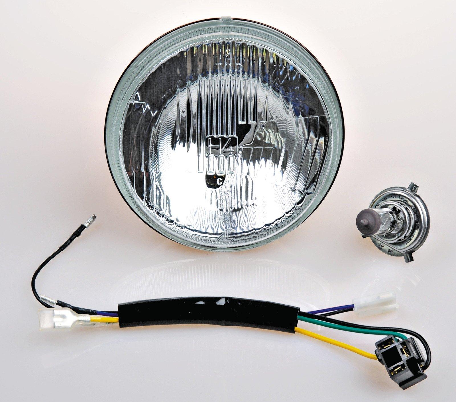 hight resolution of yamaha 1976 1981 xt500 6v h4 headlight conversion kit 10 013