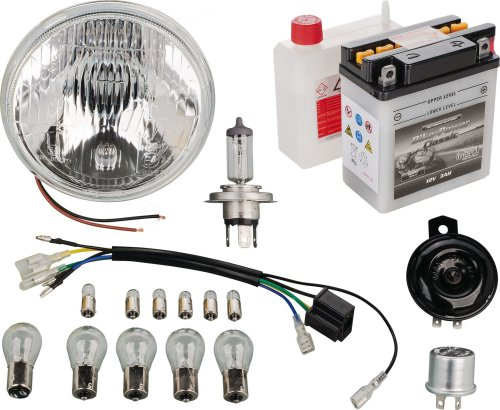 small resolution of yamaha xt500 12v conversion add on kit for 50544 pme plug in basic or h4 upgrade 50550 50551