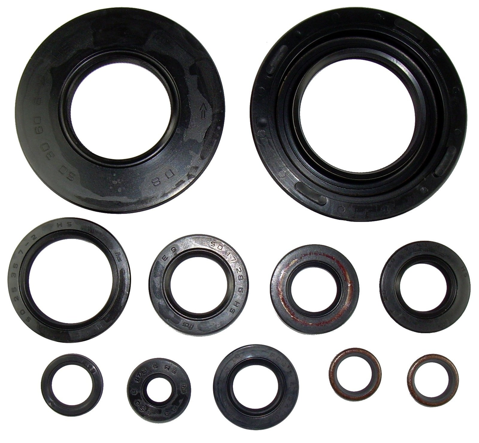 hight resolution of yamaha tt500 xt500 engine shaft seals kit incl seal for governor 11pcs 90023