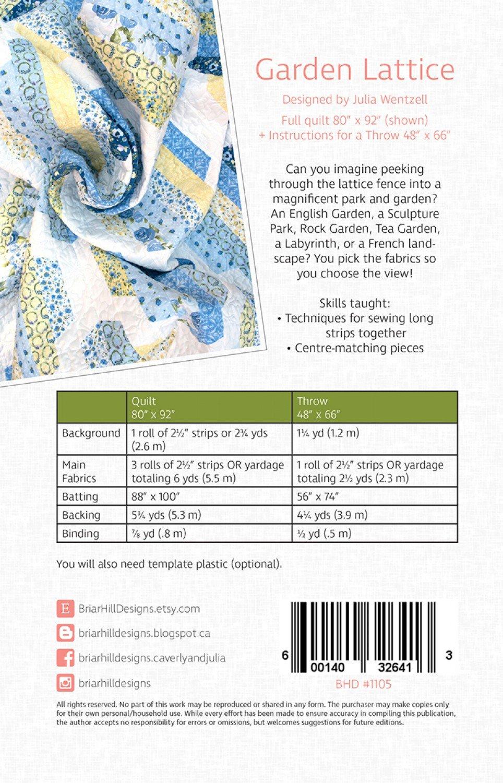 Garden Lattice Quilt Pattern : garden, lattice, quilt, pattern, Garden, Lattice, Quilt, Pattern, 600140326413