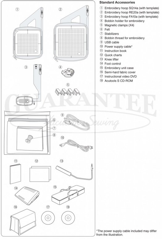JANOME SKYLINE S9 Sewing / Embroidery/Quilting 8 1/4