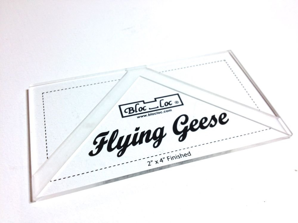 Ruler Bloc Loc Flying Geese 2X4