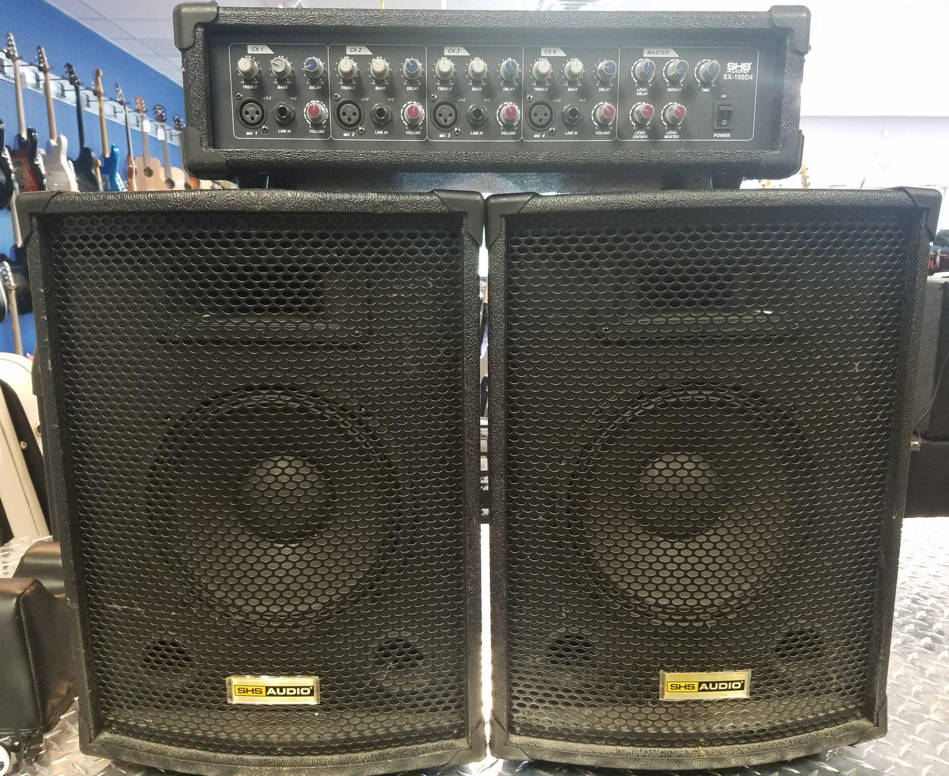 used shs audio sx