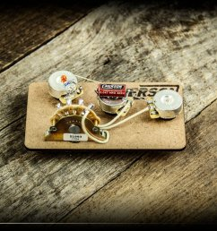 emerson custom s5 b 250k strat blender prewired kit [ 2000 x 1333 Pixel ]