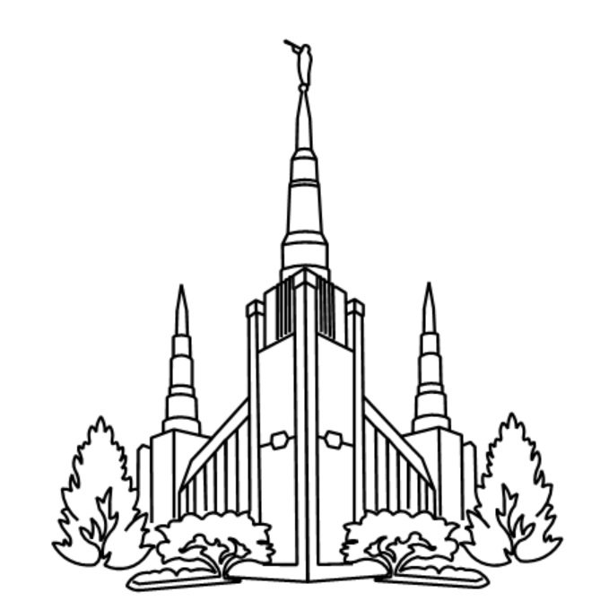 mesa lds temple coloring pages