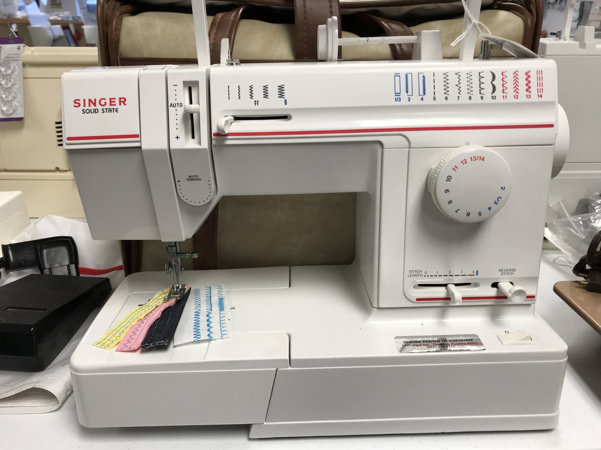 Quality rebuilt and guaranteed sewing machines embroidery