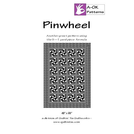 pinwheel 5 yard quilt