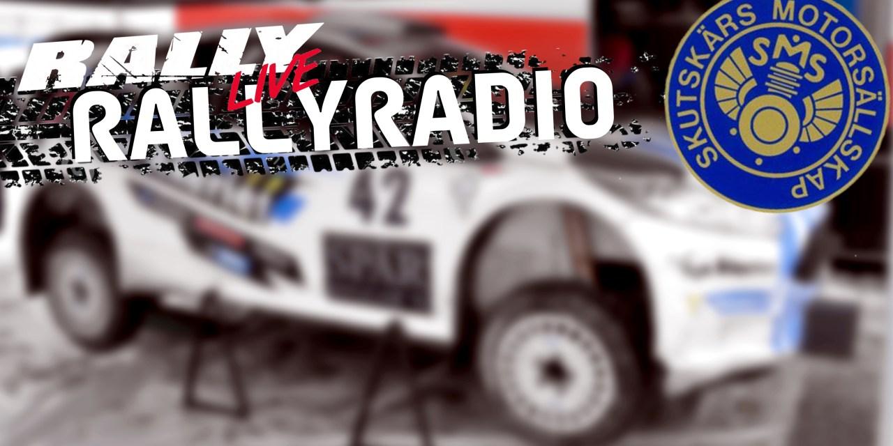 Så följer du Skutskärsratten via rallyradion
