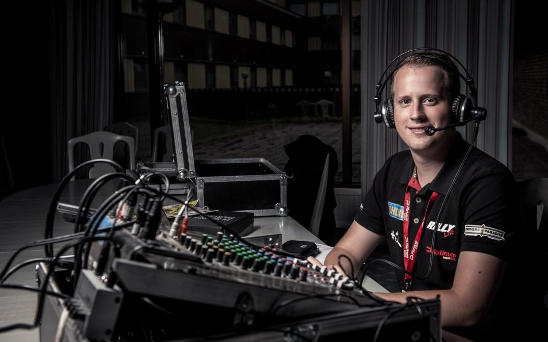 Lyssna på Rallyradio från SM-Premiären i Vännäs