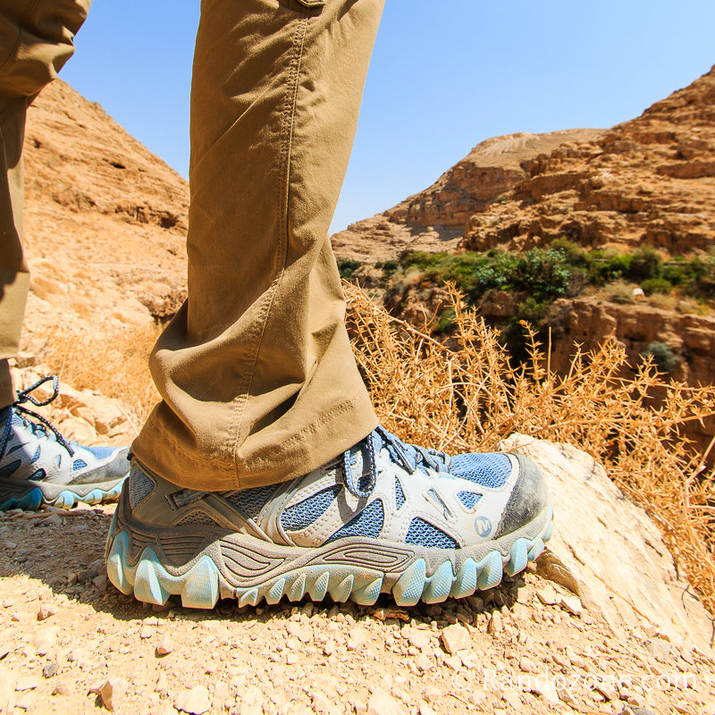 test des chaussures merrell all out blaze aero sport