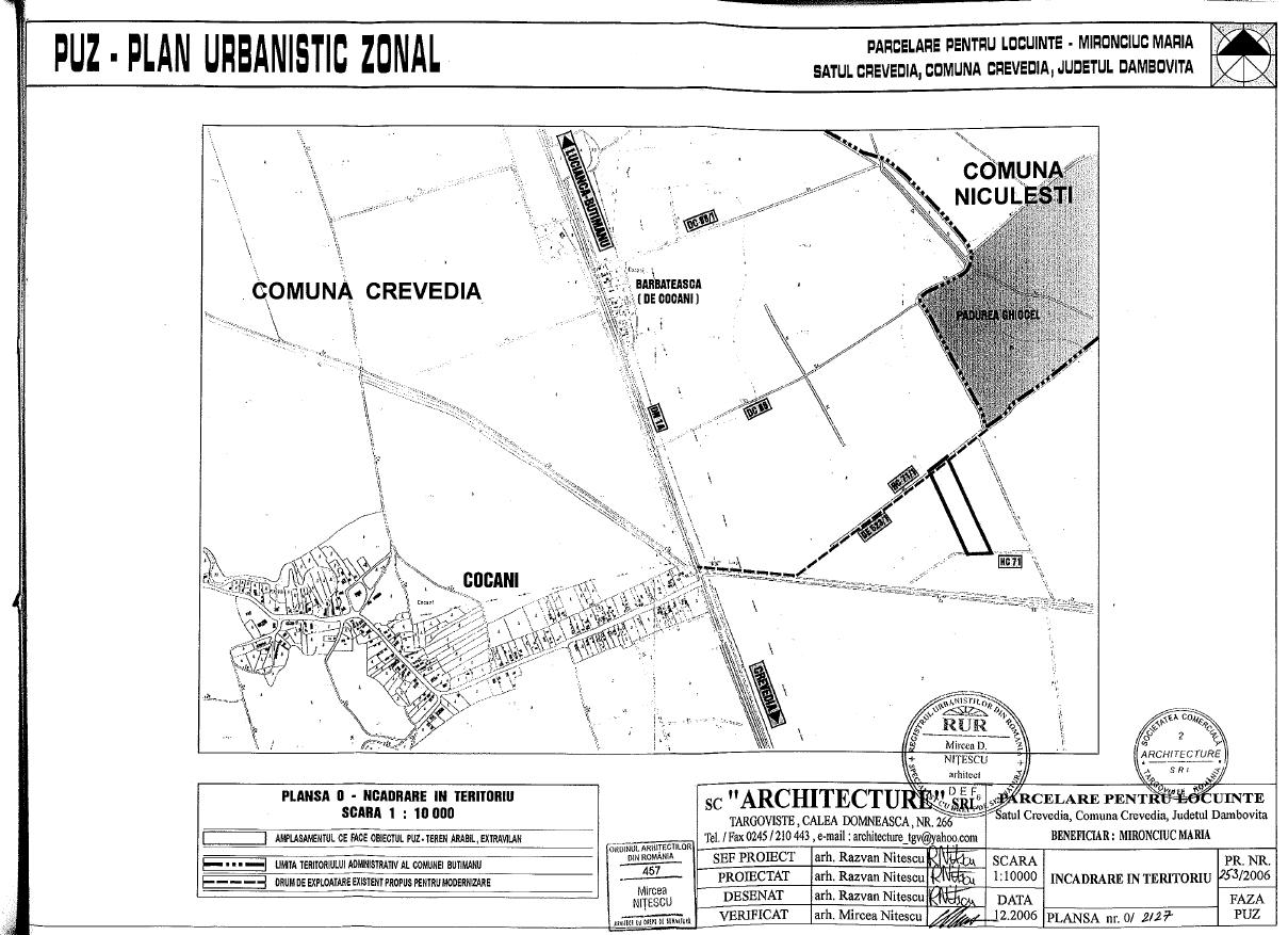 Vente Terrain Constructible Bucarest Bucharest Roumanie