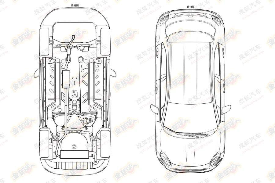 Cum va arăta Fiat 500X: Câteva schiţe de la oficiul pentru