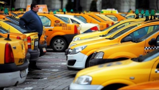 Protest al taximetriștilor