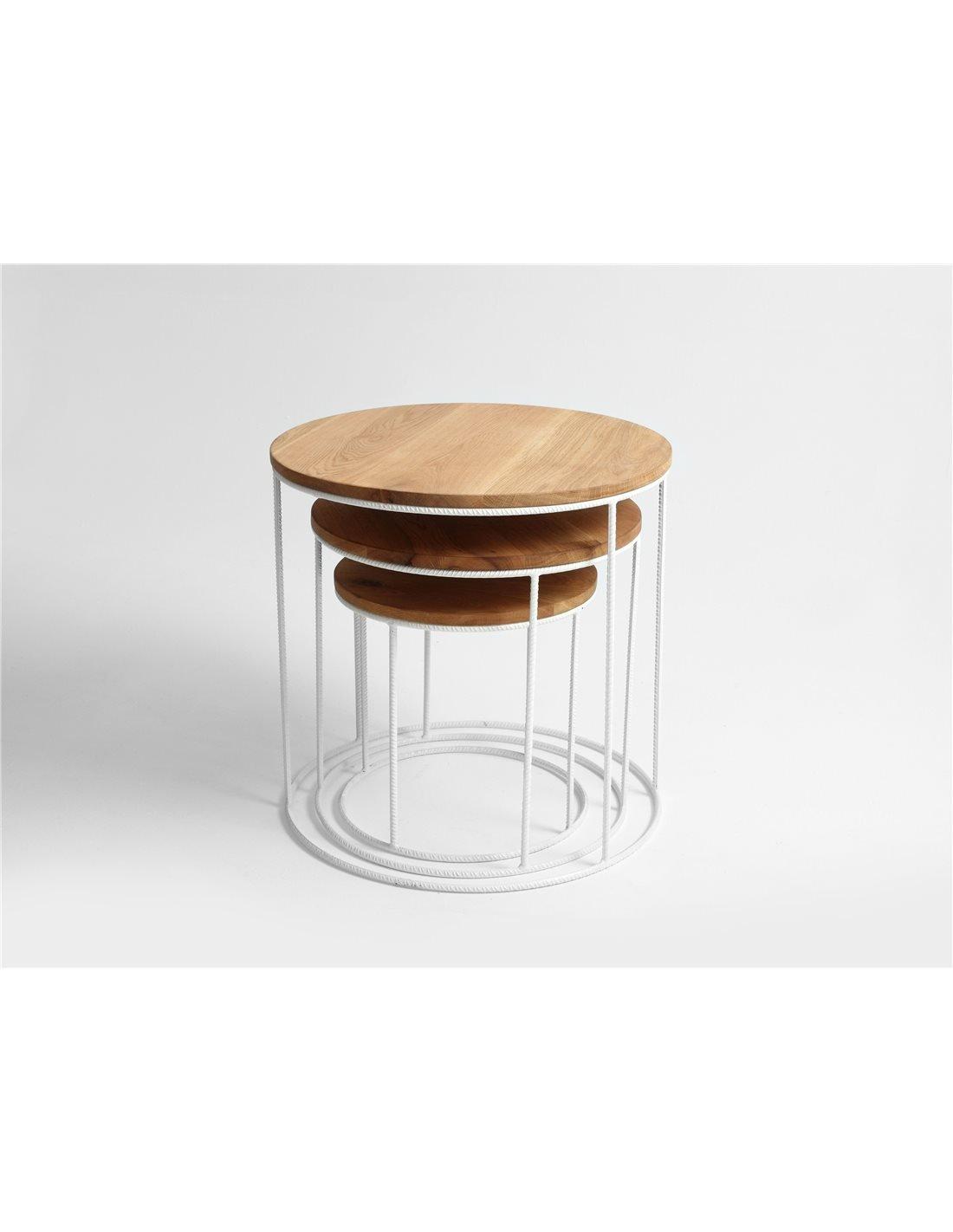 table gigogne trios custom form
