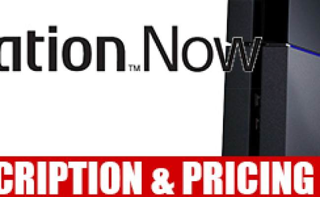 Playstation Now Subscription Announced Details Pricing